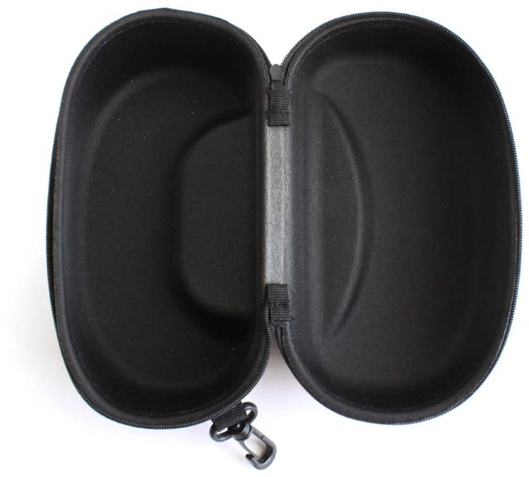 Чехол для тактических масок жесткий размер XL черный