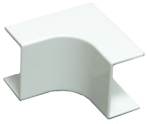 RMI Внутренний угол плавный стандарт TIA 20/12,5. Цвет Белый. Ecoplast (ЭКОПЛАСТ). 72114R