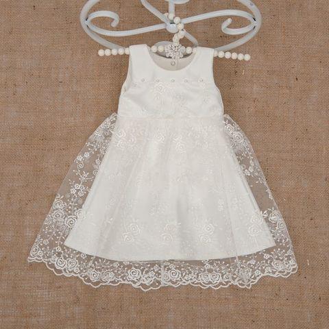 Нарядное платье Ажурное айвори