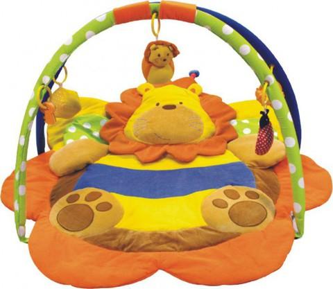 Развивающий коврик для новорожденных  Baby Mix Лев