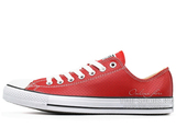 Кеды Converse All Stars Chuck Taylor Leather Low Red