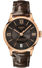 Женские часы Tissot T099.207.36.448.00 Chemin des Tourelles Powermatic 80 Lady