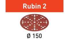 Шлифовальные круги STF D150/48 P40 RU2/50 Rubin 2