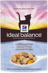 Пауч для кошек Hill's Ideal Balance Feline Adult с Форелью