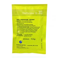 Дрожжи Safbrew S-33 (11.5 гр)