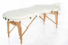Массажный стол RESTPRO VIP OVAL 3 Cream