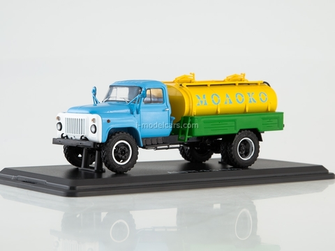 GAZ-53 ACPT-3,3 Milk blue-yellow-green 1:43 Start Scale Models (SSM)