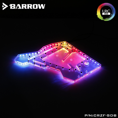 Акриловая панель Barrowch CRZF-SDB LRC2.0 water channel integrated board for COUGAR CONQUEROR open type case