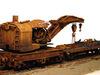 Ручная работа! Железнодорожный кран с платформой 1912г., НО