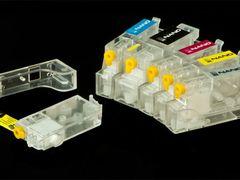 Комплект картриджей BURSTEN NANO 2 для принтеров CANON MP620, MP630, MP980, MP990 (PGI-520/CLI-521) x 6 шт.