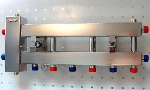 Балансировочный коллектор компактного исполнения из нерж. стали BMKSS-60-4D