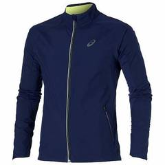 Мужская куртка Asics Windstopper (124740 8052) синяя