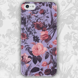 Чехол для iPhone 7+/7/6s+/6s/6+/6/5/5s/5с/4/4s ROSE ON PURPLE