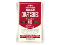 Дрожжи Mangrove Jack's Craft Belgian Liberty Bell Ale M-36