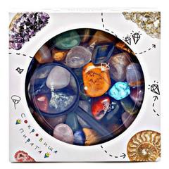Набор самоцветов Сокровища Пирата N2, 15х15х5 см, 900 г