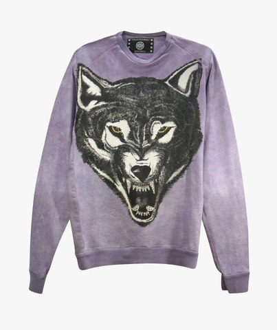 Толстовка The Saints Sinphony WOLF FRENCH TERRY LONG SLEEVE