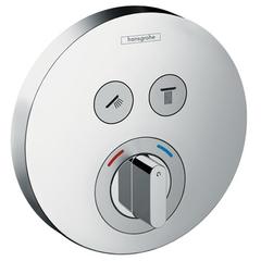 Смеситель для душа встроенный Hansgrohe ShowerSelect S 15748000 2 потребителя