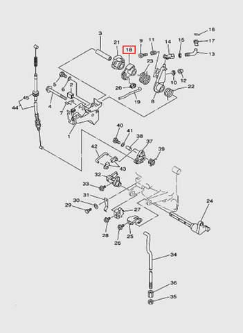 Голова блока цилиндров  для лодочного мотора T15, OTH 9,9 SEA-PRO (2-18)