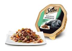 Sheba Delicatesso Фрикассе с кроликом, уткой и овощами 85 гр