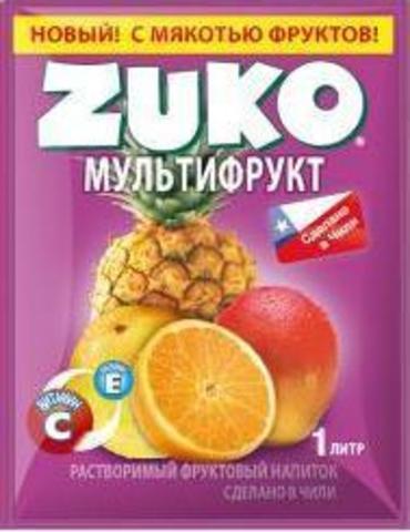 ZUKO 'Мультифрукт' в магазине Каша из топора