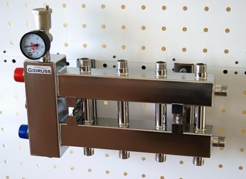 Балансировочный коллектор компактного исполнения из нерж. стали BMKSS-60-5DU
