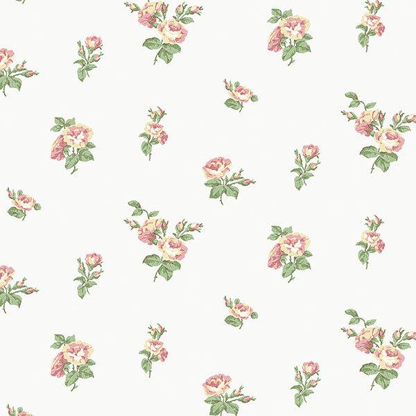 Обои Aura English Florals G34350, интернет магазин Волео