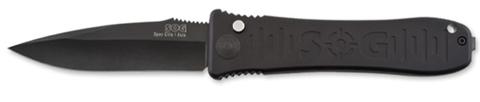 Купить Складной нож SOG Мод. SPEC ELITE I AUTO BLACK 97049 по доступной цене