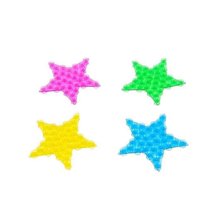 Полочка-липучка с двусторонними присосками Звезда
