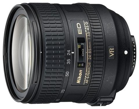 Объектив Nikkor AF-S 24-85mm f/3.5-4.5 G IF-ED VR