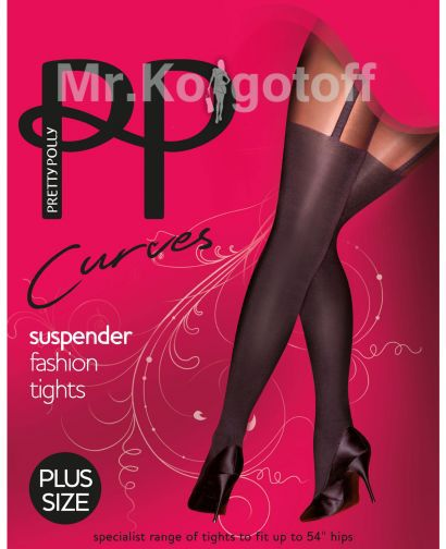 Колготки Pretty Polly Curves Suspender (ARE7)
