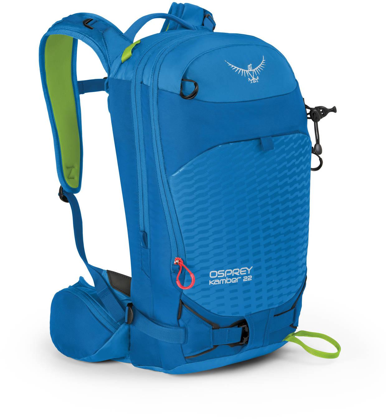Рюкзаки для сноуборда Рюкзак сноубордический Osprey Kamber 22 Cold Blue Kamber_22_Side_Cold_Blue_web.jpg