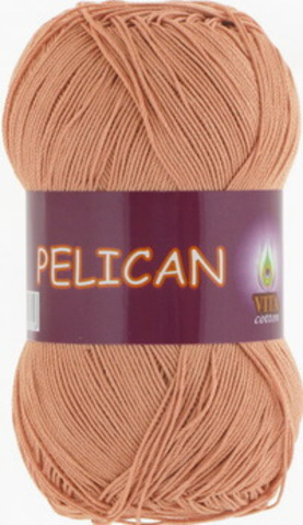 Пряжа Pelican (Vita cotton) 4005 Светлый миндаль