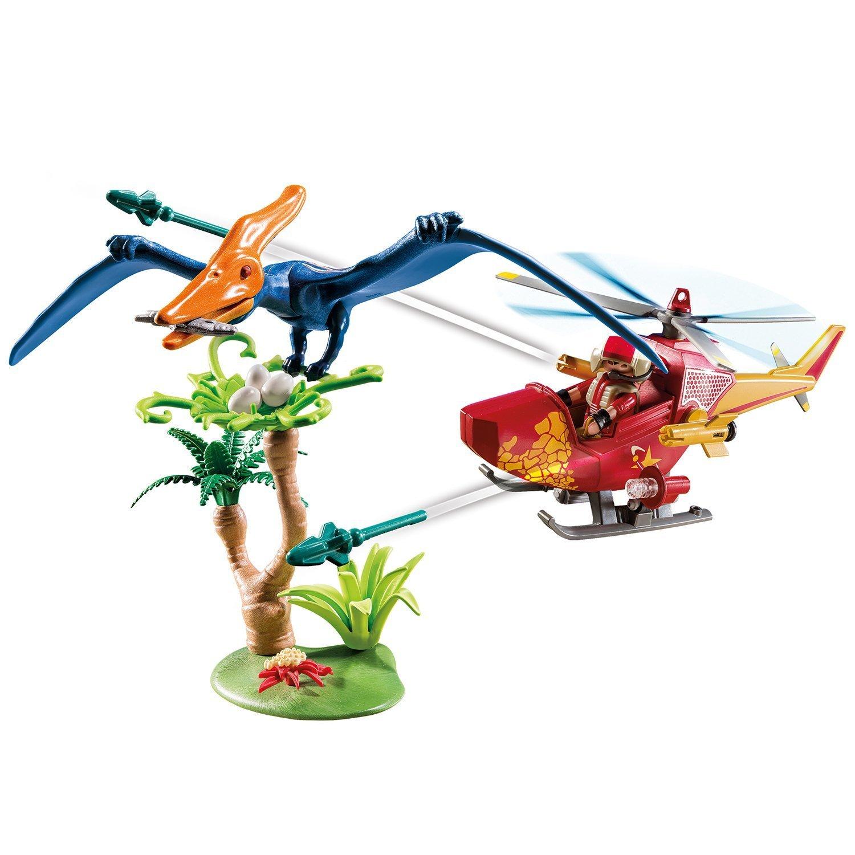 Конструктор Playmobil Динозавры Вертолет 9430pm