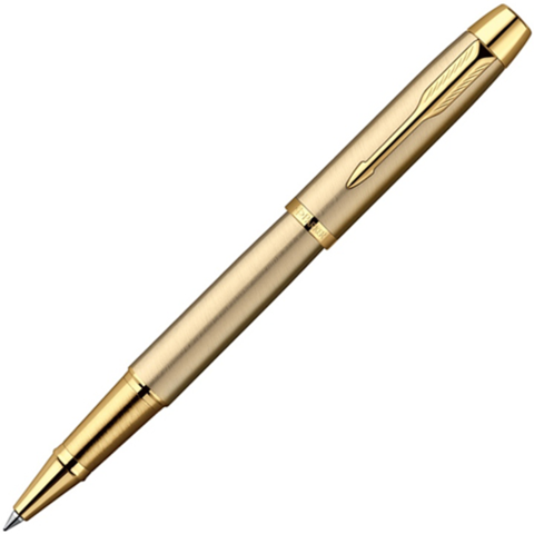 R0811700 Parker IM Brushed Metal Gold GT Ручка-роллер