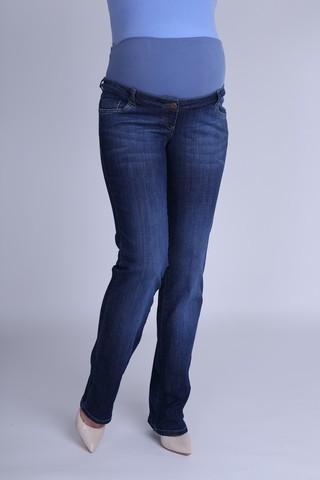Джинсы для беременных 09339 синий