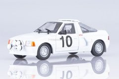 Moskvich-141 KR AZLK-2141 Rally №10 1988 1:43 DeAgostini Auto Legends USSR #242