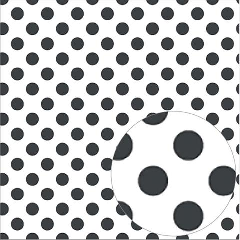 Ацетатный лист  30 х30 см - Bazzill Printed Acetate Dots Sheets  - Raven