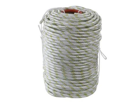 Фал плетёный капроновый СИБИН 24-прядный с капроновым сердечником, диаметр 12 мм, бухта 100 м, 2200 кгс