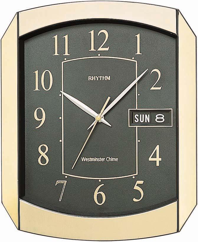 Настенные часы Rhythm CFH102NR18