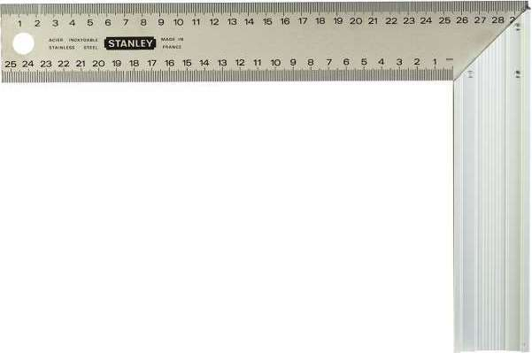 Угольник столярный   300мм  Stanley 1-45-686