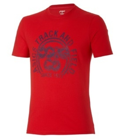 Футболка Asics Track and Field Tee мужская