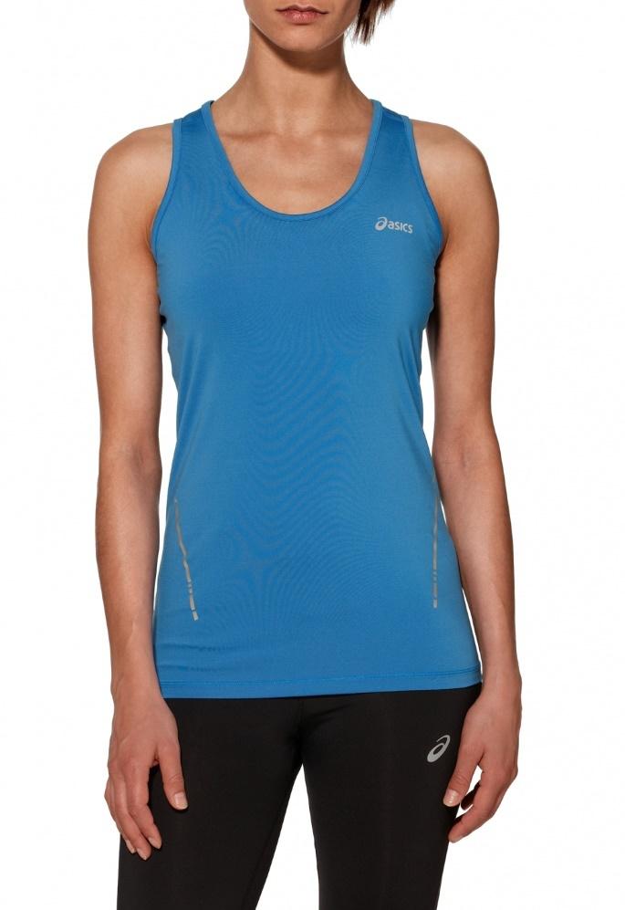 Женская беговая майка Asics Tank Blue (110421 0830) фото