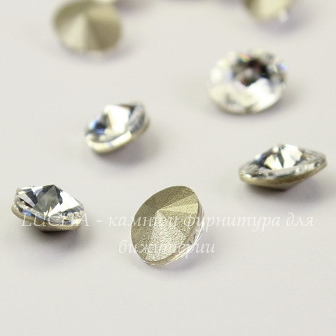 4122 Oval Rivoli Ювелирные стразы Сваровски Crystal (8х6 мм)