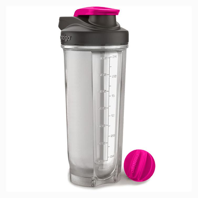 Фитнес-бутылка Contigo (0.82 литра) розовая