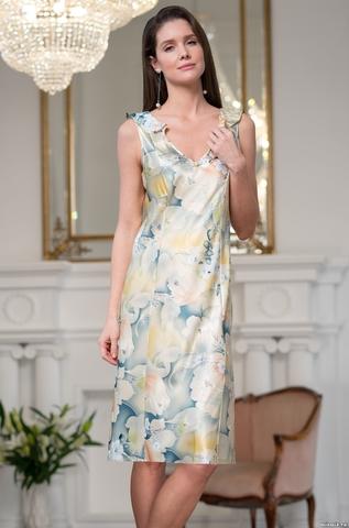 Длинная ночная сорочка Mia Amore Lucianna (70% шелк)