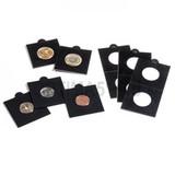 Холдер самокл. черный для монет D до 32.5 mm 50х50