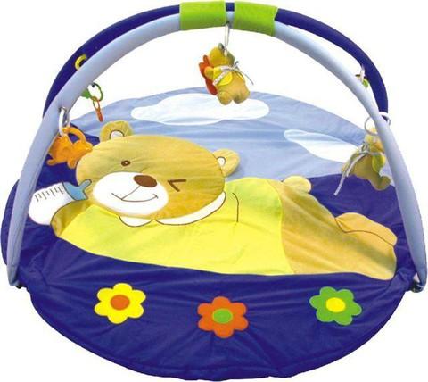 Игровой коврик для новорожденных  Baby Mix Мишка