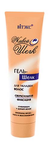 Гель – шелк для укладки волос сверхсильной фиксации