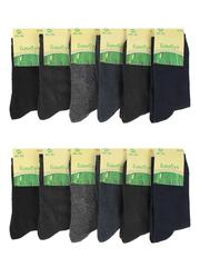 8426 BOYI носки мужские 42-48 (12шт), цветные