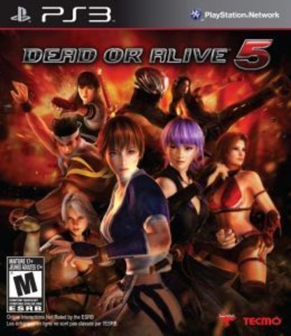 Sony PS3 Dead or Alive 5 (английская версия)